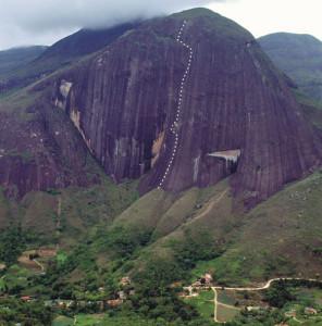 Via Raja, Pedra do Elefante, Petrópolis.