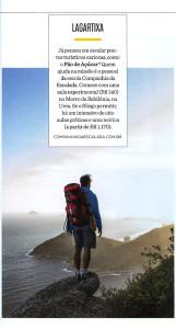 Companhia da Escalada na Revista Gol.
